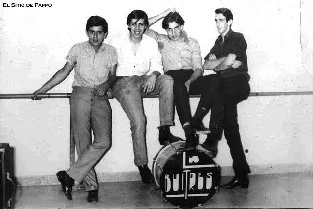 Pappo  fotos de  los primeros tiempos en la música